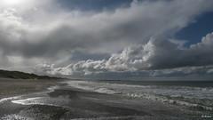 Bulbjerg 004 (Hauke Lass) Tags: strand see meer lass ufer hauke landschaft dnemark skagen steilkste dne kste brandung geologie lild bunkermuseum jtland bulbjerg spieglung jammerbucht lumixgh
