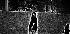 Victim  !!!!!!!!! (imagejoe) Tags: street vegas people blackandwhite reflection nikon shadows lasvegas nevada strip thestrip