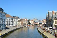 (toltequita) Tags: belgium belgique panoramic belgica ghent gent gand gante panorámica panview