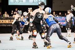 20131207.RCRG-RCR_0937 (Axle Adams) Tags: sports rollerderby rollergirls skaters derby skates rcr ratcityrollergirls rcrg rosecityrollers