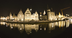 Gante Gand Gent (toltequita) Tags: europa europe nightshot belgium belgique pano style panoramic panoramica romantic estilo gent romantico gand gante gant panview begica