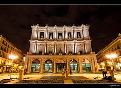 Teatro Real (Pogdorica) Tags: madrid plaza real teatro noche nocturna oriente