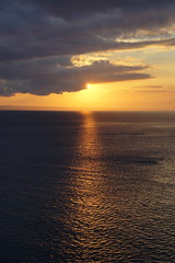 sea and sunset (Andy Coe) Tags: cruise blue sunset red sea sky people sun holiday silhouette clouds island gold golden ship glow colours sony watching dream thomson caribbean alpha setting a77