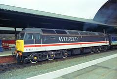 47837@Newcastle1 (zipdiskdude) Tags: newcastle 1989 intercity 47837
