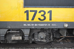 1731 alias NL NS 91 84 1560731-9 (GVB813) Tags: amsterdam ns 1700 nsr icb 1731 amsterdamcs purmerend ns1700 1700serie nslocomotief nslocomotieven 1731purmerend
