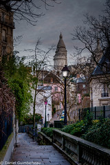 Old Montmartre Street (Dan Guimberteau) Tags: paris montmartre