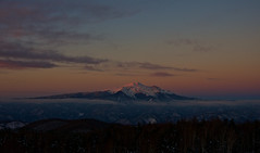 Afterglow (Yoshia-Y) Tags: sunset afterglow mtnorikura mtkisoontake
