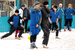*** (Artur (RUS) Potosi) Tags: guy football winter 2012 man footballer soccer sport outdoor snow
