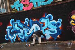 graffiti (wojofoto) Tags: amsterdam graffiti wojofoto ndsm action nederland netherland holland wolfgangjosten