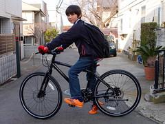 Owen`s new ride (owenfinn16) Tags: bike bicycle japan cycling kid marin 15 muirwoods marinmuirwoodsdisc2014