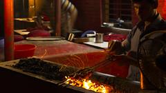 delicious kabab .... (Ashraful_Karim) Tags: people lake night dinner canon fire sink cook meat grill burning oil 1855mm coal karim kabab ashraf dhanmondi 600d ashraful
