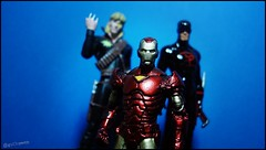 Iron Man, Longshot e Daredevil Shadowland (Gui Lopes BH) Tags: man classic comics toys miniatures iron action statues collection xmen heroes figurine marvel panini figures avengers daredevil longshot chumbo miniaturas shadowland eaglemoss