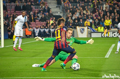 Round of 16 Champions League. F.C. Barcelona Vs. Manchester City (Marc Puig i Prez) Tags: barcelona city camp manchester football soccer jr fc bara league nou champions fcb neymar