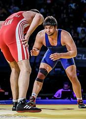 2014 World Cup India vs Armenia (jrsachs) Tags: freestyle wrestling freestylewrestling worldcup fila techfallcom