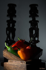 spicy shadow (Ednax) Tags: shadow pepper mix spice spicy habanero jalapeo jolokia buht