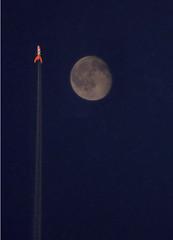 fusee Tintin (richardcuisset) Tags: lune avion fusee