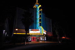 Tower Theatre (Carrie McGann) Tags: sign interesting nikon neon neonsign roseville towertheatre 082413