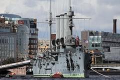 Cruiser Aurora (l plater) Tags: stpetersburg russia cruiseraurora nevariver canon60d lplater canonef70300mmf456lisusm photoshopcs6 iso200f561800sec300mmx16
