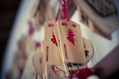 Jian Keishuin (Frigno) Tags: wood temple japanese dof bokeh taiwan hualien japanesestyle woodenprayertablets jiankeishuin