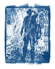 On the road (2002) (Alexander Tkachev) Tags: alternative cyanotype contactprint alternativephotography digitalnegative altprocess alexandertkachev