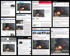 Lynchburg Train Derailment (LuAnn Hunt) Tags: train fire explosion lynchburg ap derailment