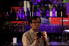 2014/05/08 22h39 Nightclubbing (Valéry Hugotte) Tags: selfportrait reflection studio autoportrait bordeaux reflet nuit