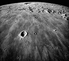Mare Imbrium (sjrankin) Tags: moon edited library nasa craters wikipedia grayscale apollo17 mareimbrium lunarlimb 25january2015