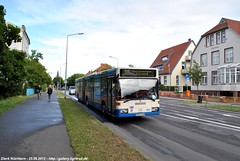 204 (HRO-U 1536) Wiesenweg (B100S) Tags: bus mercedesbenz mb rostock strasenbahn rsag o405ng wartemünde