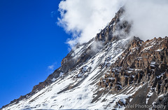 Clouds Over Yakwakang Peak, Thorung High Camp, Annapurna Circuit, Nepal (Feng Wei Photography) Tags: travel nepal cloud mountain snow color horizontal landscape asia outdoor scenic peak remote np annapurnacircuit annapurna himalayas manang gandaki westernregion annapurnahimal annapurnaconservationarea thoronghighcamp thorunghighcamp yakwakangpeak