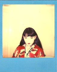 Roxanne Polaroid 3 (hethelred) Tags: portrait colour beautiful female project polaroid sx70 pretty chinese impossible