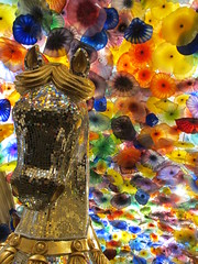 Bellagio horse Chihuly Glass (Nancy D. Brown) Tags: horse chihuly lasvegas nevada bellagio