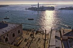 San Giorgio e San Marco (Fil.ippo) Tags: venice panorama square island nikon cityscape gondola piazza laguna venezia filippo sanmarco palazzoducale sangiorgio isola d7000 filippobianchi