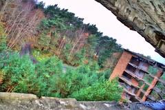 Prora KDF-Ruine (www.meine-heimat-ruegen.de) Tags: von bad surreal ruine rgen durch bunt kraft freude prora kdf koloss