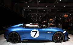 Jaguar F-TYPE Project 7. (Tom Daem) Tags: show brussels cars project european dream 7 motor jaguar 2015 ftype