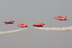 Red Arrows Hawks (JaffaPix +5 million views-thanks...) Tags: airplane flying hawk aircraft aviation flight aeroplane airshow bae redarrows raf dxb dubaiairport royalairforce formationflying omdb baesystems dubaiairshow dubaiairshow2007 jaffapix davejefferys