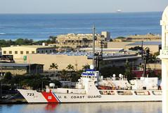 USCGC Rush (WHEC-723) (D70) Tags: usa tower hawaii coast high guard rush honolulu endurance aloha cutter uscgc whec723