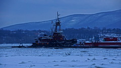McAllister Towing And Transportation Tugboat Christine McAllister (thetrick113) Tags: winter ice frozen tugboat hudsonriver barge rtc hudsonriverice deanreinauer reinauertransportationcompanies hudsonrivertugboat reinauerbarge winter2015 tugboatdeanreinauer