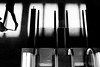 (donvucl) Tags: bw london fuji shadows figure escalators lightandshade donvucl x100s britishlibraryeustonstation