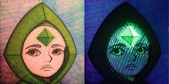Durian Gray (dougrizio) Tags: art neon blacklight marker highlighter glitchcraft