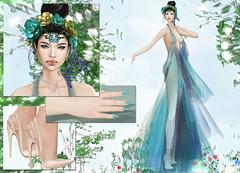 AZUL - Calypso (Rehana MiSS SLVietnam, Face of CHOP ZUEY 2015) Tags: fashion azul secondlife renewal laboheme boon reign rehana maitreya slink posesion chopzuey rehanaseljan ariskea