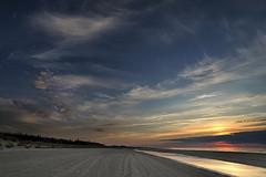 No. 1052 Sun and moon (H-L-Andersen) Tags: hlandersen landoflight wa sea seascape hirtshals sky sun moon moonrise clouds colors beach reflections water denmark uggerbystrand samyang 14mm tversted