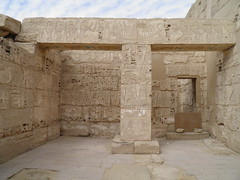 Medinet Habu Mortuary Temple of Ramesses III: Re-Horakhty Complex (dr.heatherleemccarthy) Tags: sculpture stone writing temple solar ancient text egypt relief column hieroglyphs thebes architrave ramesses rahorakhty
