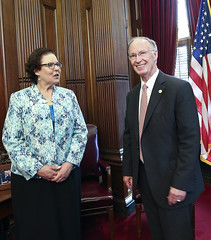 05-25-16 Teacher of the Year meets with Governor Bentley