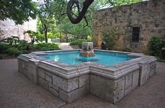 Alamo Garden (esmithiii2003) Tags: fountain garden bowie memorial san remember texas travis antonio alamo crockett bonham thealamo rememberthealamo esmithiii esmithiii2003