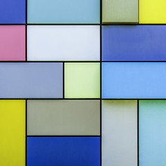 Synchronicity of Color 2 (Mabry Campbell) Tags: blue sculpture usa art wall photography design photo texas photographer image squares unitedstatesofamerica fineart may houston hasselblad photograph blocks 100 24mm f80 squarecrop fineartphotography 2016 commercialphotography locallandmark discoverygreen synchronicityofcolor margosawyer sec tse24mmf35lii hariscounty mabrycampbell h5d50c 20160504campbellh6a5769 may42016