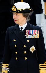 HRH Princess Anne - Rosyth Parish Church (Ben Gourlay Photography) Tags: family sea army anne princess navy royal battle hrh cadets jutland rosyth of