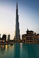 Burj Khalifa in Dubai (VivaViena!) Tags: building architecture dubai uae burjkhalifa