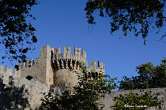 - Rodos island (Eleanna Kounoupa) Tags: blue sky castles architecture islands traditional oldbuildings greece oldtown rodos palaces fortresses    historicalcenter   dodecaneseislands    hccity