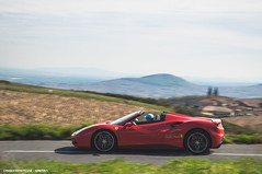 488 Spyder (Gaetan   www.carbonphoto.fr) Tags: auto red france car speed french tour great fast automotive ferrari racing spyder exotic coche incredible luxury supercar gtb 488 cavallino hypercar worldcars carbonphoto