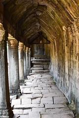 Corridor (dreamtwister82) Tags: pasillo piedra stone cambodia angkorwat angkor camboya asia